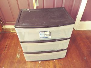 Plastic drawer for Sale in Compton, CA