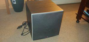 Polk PSW10 subwoofer bass speaker works great! for Sale in Brandon, FL