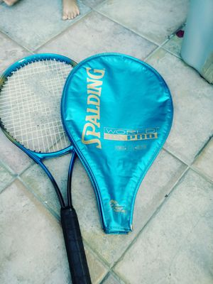 Spalding world pro world team tennis official racket for Sale in Lake Forest, CA