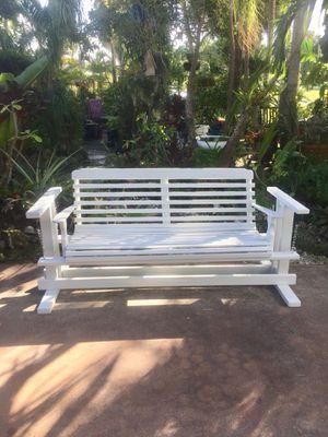 """6' Heavy Duty Patio Porch Swing Bench: 84""""W x 29""""D x 36"""" for Sale in Pembroke Park, FL"""