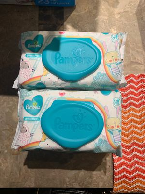 Pampers sensitive wipes 56 count for Sale in Las Vegas, NV