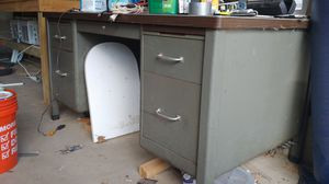 Metal desk for Sale in Manchester, CT