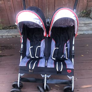Delta Children LX Side by Side Double Stroller for Sale in South San Francisco, CA