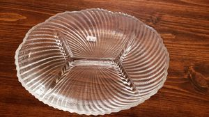 Crystal Divided Dish for Sale in Palmyra, VA