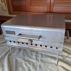 Stainless Steel Portable Propane Camp Grill for Sale in Seattle, WA