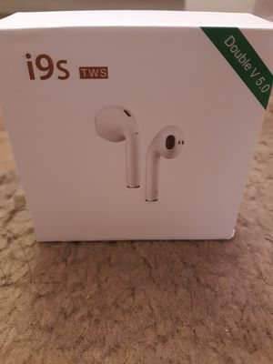 Wireless headphones with charging case for Android & Iphone for Sale in Riverside, CA
