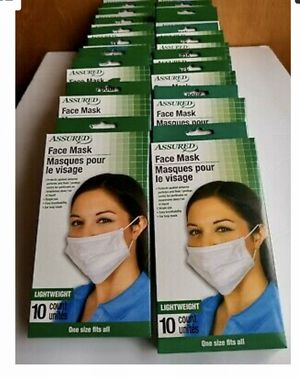 Medical Anti Viral Face Mask 20 Boxes for Sale in Springfield, OR