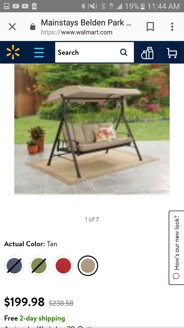 Porch swing NEW