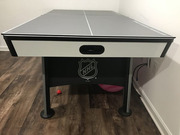 GLAZETEK Air hockey table NEED SOLD ASAP 300$