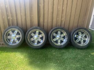 20inch Tires and Rims for Sale in Tacoma, WA