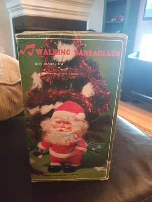 Vintage Walking Battery Operated Santa for Sale in Gaithersburg, MD