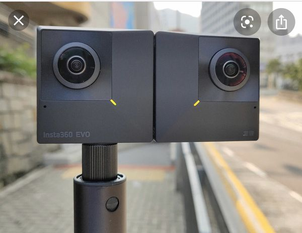 Insta360 EVO Foldable 3D VR 5K Camera