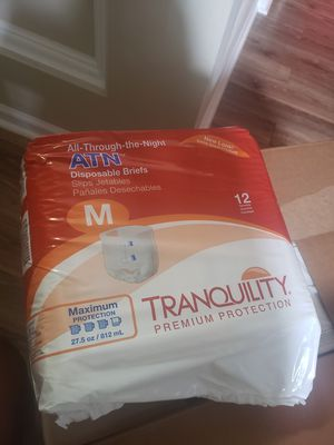Disposable diapers, special needs for Sale in Raleigh, NC