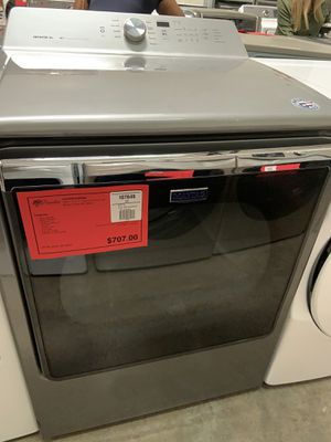 New Maytag Bravos Electric Steam Dryer On Sale 1yr Factory Warranty for Sale in Gilbert, AZ