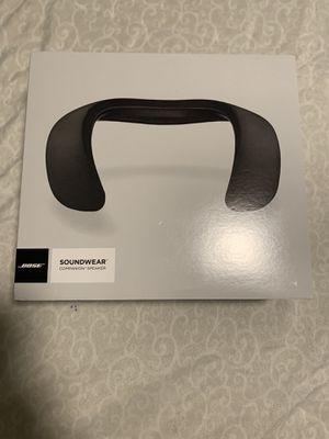 Black Bose sound wear companion speaker for Sale in UNIVERSITY PA, MD