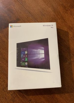 Microsoft Windows 10 Pro USB Drive 32/64 Bit Full Version (Brand New Retail) for Sale in Walnut, CA