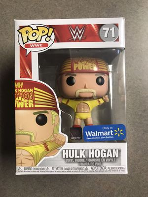 Hulk Hogan Funko Pop Wrestlemania 3 WWE Python Power Walmart Exclusive 71 with protector for Sale in Dallas, TX
