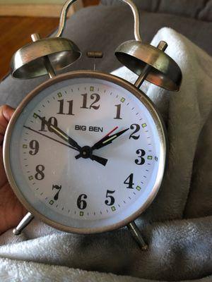 Silver alarm clock for Sale in Los Angeles, CA