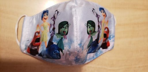 Disney Pixar Inside Out Kids Face Mask Double Layer for Sale in Los Angeles,  CA