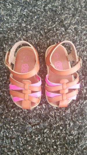 Size 3T baby sandals for Sale in San Diego, CA