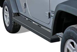 "APS iBoard 6"" Running Boards for 2007-2018 Jeep Wrangler JK 4 Dr for Sale in Westport, MA"