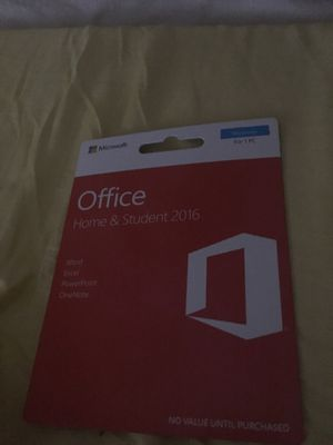 Microsoft office student and home 2016 for Sale in Middle Valley, TN