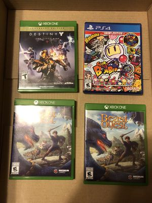 Xbox One Games • PS4 Game for Sale in Margate, FL
