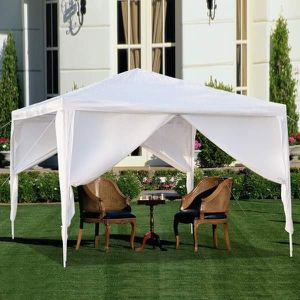 BRAND NEW 10'x10' WITH 4 WALLS OUTDOOR CANOPY, WEDDING TENT, HEAVY DUTY GAZEBO for Sale in Los Angeles, CA