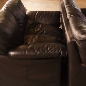 3 Piece Comfy Leather Couches for Sale in Beverly Hills, CA