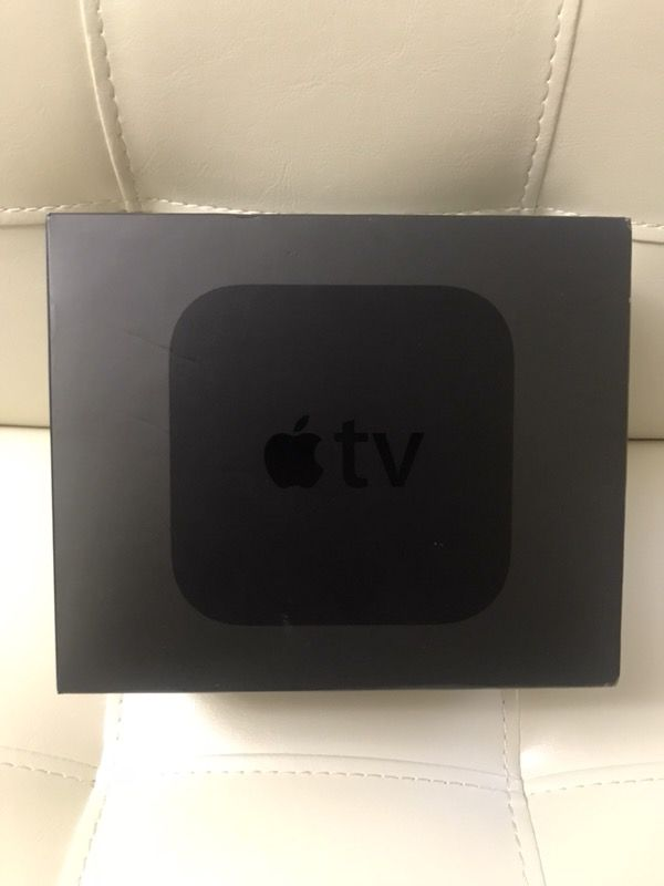 Apple TV 4 ready to use includes movies, tv, music
