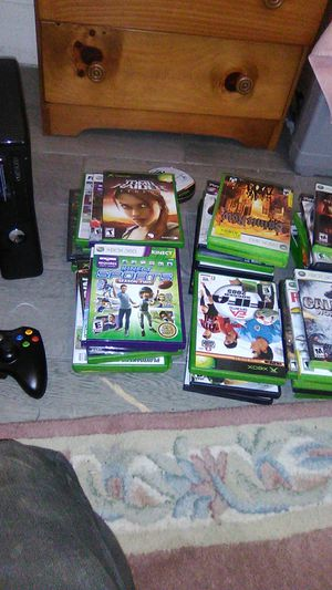 Xbox360 with 40 games for Sale in Lawrence, MA