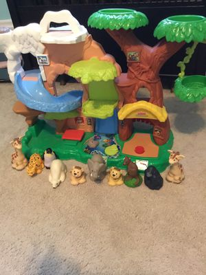 Fisher Price Zoo Talkers Tree House for Sale in Waynesburg, PA