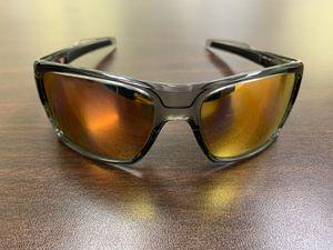 Oakley Turbine Grey Ink Ruby Iridium Polarized Sunglasses for Sale in Palmetto, FL