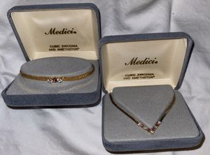 Vintage Medici necklace and bracelet for Sale in St. Louis, MO