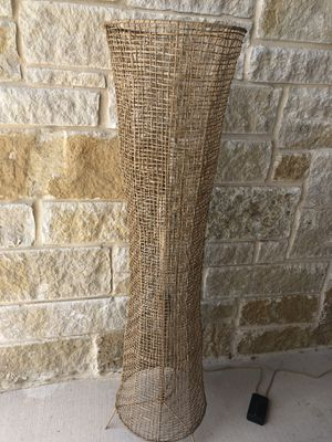 NEW Leanne Ford floor lamp with long Edison bulb- dimmer for Sale in San Antonio, TX