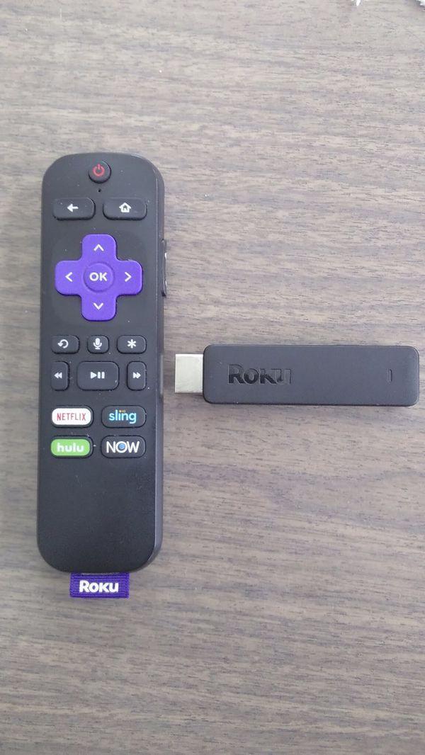 Roku with Netflix, Hulu and Showtime
