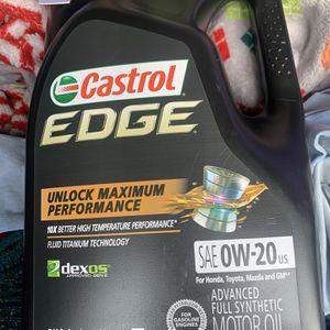 Castrol Edge Oil 0w20 BRAND NEW for Sale in Burbank, CA