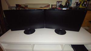 Pair of Acer 23in LCDs for Sale in St. Petersburg, FL