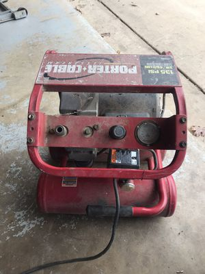 4 gal air compressor needs switch for Sale in Cibolo, TX