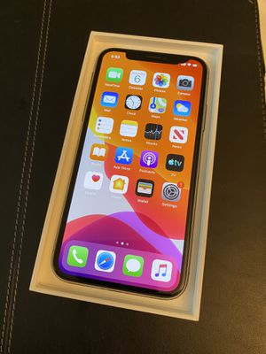 iPhone X, 256gb, factory unlocked, space gray for Sale in Fort Lauderdale, FL