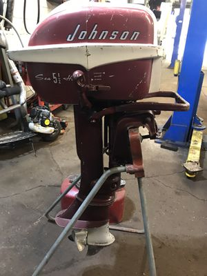 Vintage Johnson outboard motor for Sale in Pittsburgh, PA