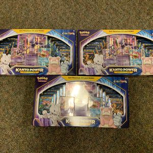 Lot of 3 - Kanto Power Collection - Evolutions XY for Sale in Katy, TX