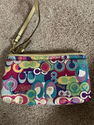 Coach wristlet for Sale in Pasadena, MD