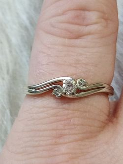 Engagement/Promise Diamond Gold Ring for Sale in Boise,  ID