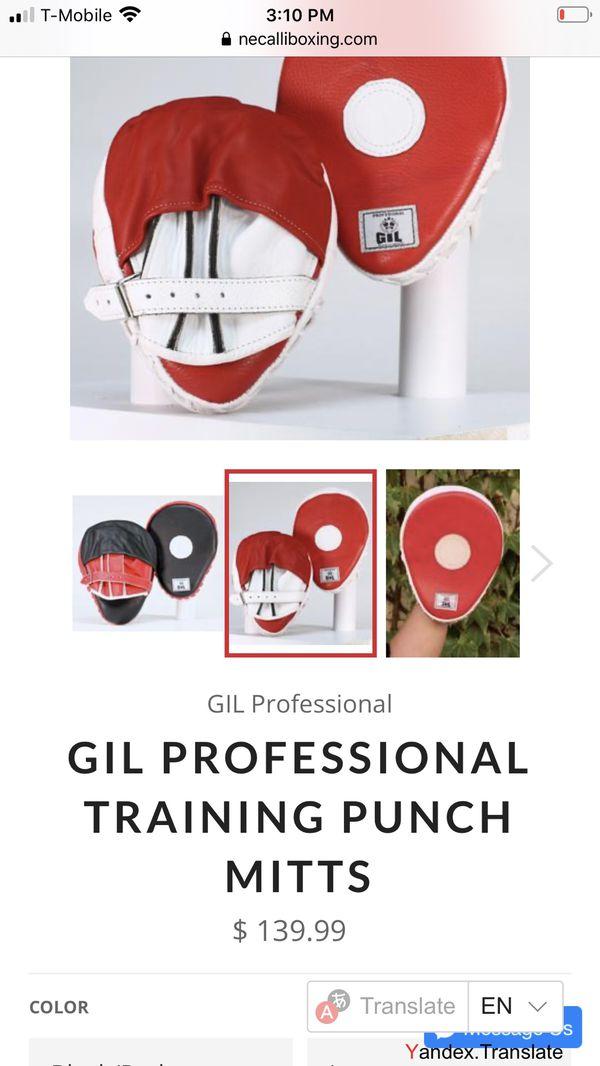 Gil Profecional boxing mitts