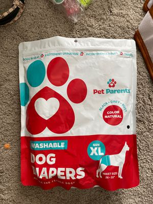 Unused washable dog diapers for big dogs for Sale in Nashville, TN