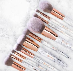 BH cosmetics marble luxe makeup brushes set of 10 for Sale in Durham, NC