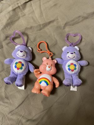 Care Bears clip on's ( NEW W/O TAGS ) for Sale in Tualatin, OR