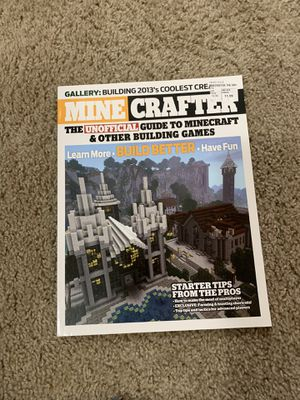 Minecraft the unofficial guide to Minecraft for Sale in Puyallup, WA