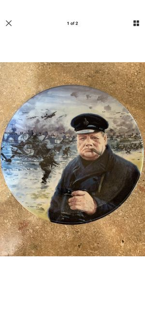 Graham coton 1994 decorative D-day plate for Sale in Young, AZ